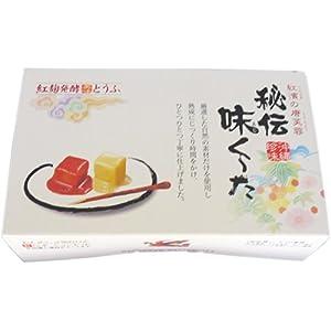 唐芙蓉 味くーた 2個入 紅濱 紅麹醗酵で長期間熟成された豆腐の珍味 沖縄を代表するお酒のおつまみ チーズやウニのような濃厚な味わい 沖縄土産にもおすすめ