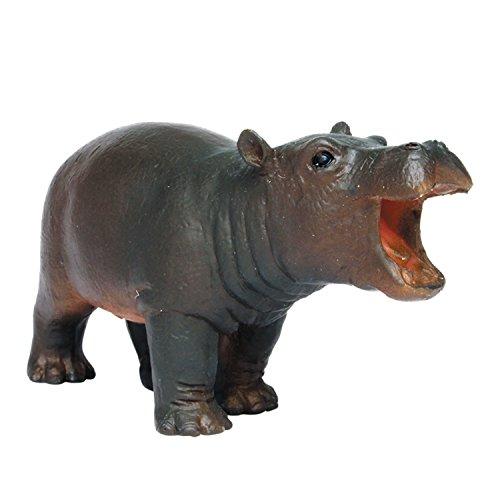 プラッツ My Little Zoo カバ (子) 全長約75mm 彩色済み動物フィギュア MJP387246