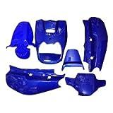 BWS100 BW's100 外装 フロントカバー ボディーカバー フェンダー ブルー 外装 6点セット