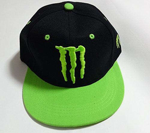 モンスターエナジー MONSTER ENERGY  cap キャップ 帽子 男女兼用 フリーサイズ ブラック 黒