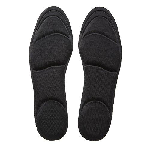 CRECER 女性用 インソール 衝撃吸収 靴 の 中敷き ...