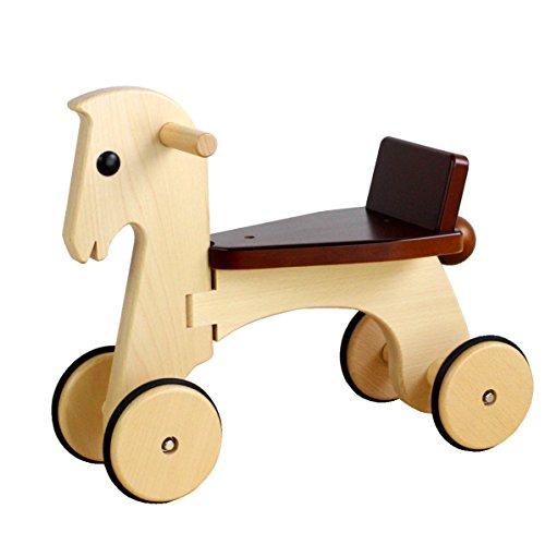【日本製木のおもちゃ】のりもの*ポニー