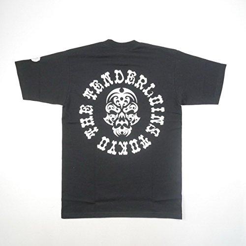 TENDERLOIN テンダーロイン 17SS TEE BS ボルネオスカルTシャツ 黒白 M