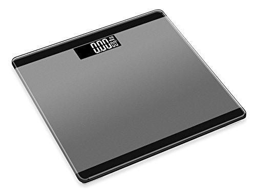 MUYI 電子はかり 体重計 ガラス 電池使用量表示 0.2k...