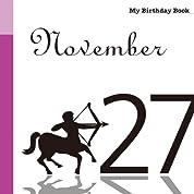 11月27日 My Birthday Book