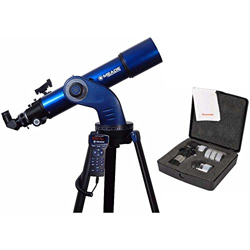 Meade StarNavigator NG 102mm GoTo Refractor Telescope with接眼レンズキット