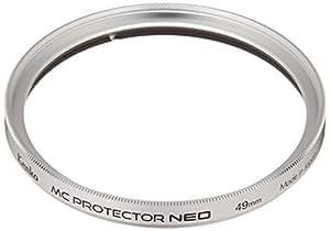 Kenko レンズフィルター MC プロテクター NEO 49mm シルバー枠 レンズ保護用 309421