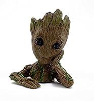 ファッショ ンフラワーポット Guardians Of The Galaxy Flowerpot Baby Groot アクションフィギュアモデルおもちゃかわいいペンポット子供用クリスマスプレゼント最適 (可愛い)