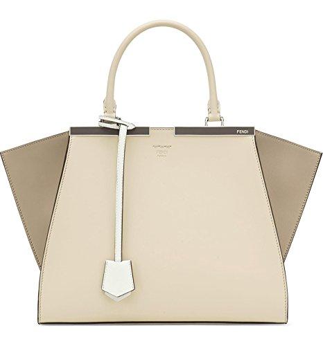 (フェンディ) FENDI women`s 3Jours Colorblock Leather Shopper 3日カラーブロックレザーショッパー(並行輸入)