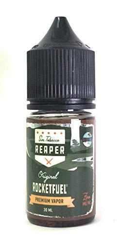 Rocket Fuel Vapes 30ml電子タバコリキッド(プラスチックボトル)リーパーブレンドタバコ (Reaper Blend Tobacco)