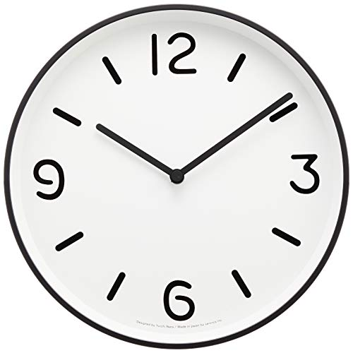 RoomClip商品情報 - Lemnos MONO Clock ホワイト LC10-20A WH
