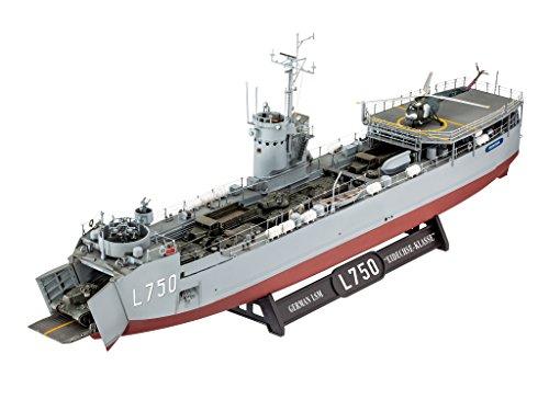 ドイツレベル 1/144 ドイツ LSM Eidechse-Klasse プラモデル