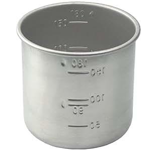 アイデアセキカワ 18-8ステンレス お米の計量カップ 1合用