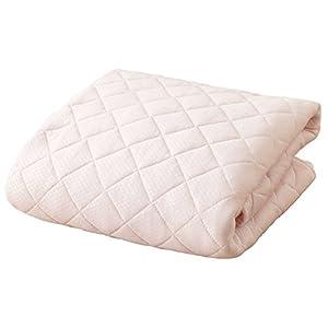 京都西川 敷きパッド 接触冷感 クール ひんやり ピンク シングル