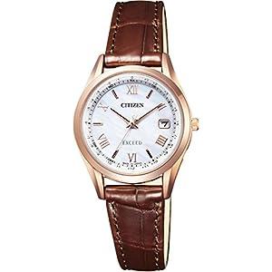 [シチズン]腕時計 EXCEED エクシード エコ・ドライブ電波時計 ダイレクトフライト ペアモデル ES9372-08W レディース