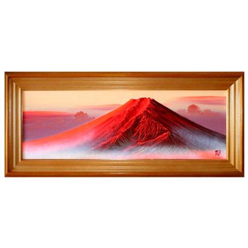 「立体画 赤富士」 百瀬善明