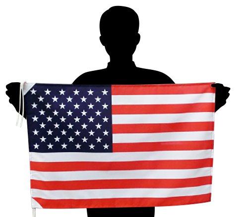 アメリカ国旗 L 星条旗USA 応援サイズ:50×75cm 高級テトロン製 日本製