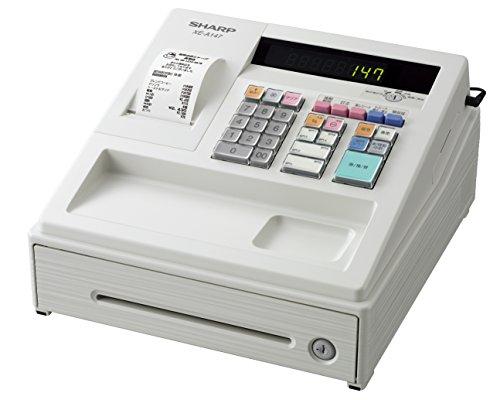 シャープ 電子レジスタ 8部門 ホワイト系 XE-A147-W