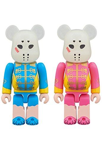 BE@RBRICK ベアブリック 仮面女子 ブルー&ピンク 2PACK