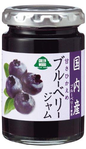 加藤産業 国内産果実ブルーベリージャム 145g [2391]
