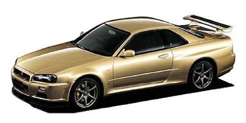 1/24 ザ・ベストカーGT No.66 スカイライン GT-R M-spec Nur. (BNR34)