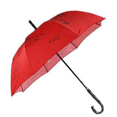【Vivienne Westwood】ヴィヴィアンウエストウッド SEXERCISE BOOK 婦人長傘(雨傘) 赤