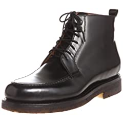 Beams x Jalan Sriwijaya Moc Toe Boot 11-32-0001-232: Black