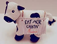 Chick-fil-a Promotional Standing Sandwich Board Eat Mor Chikin Cow 6.5 Inches Tall [並行輸入品]
