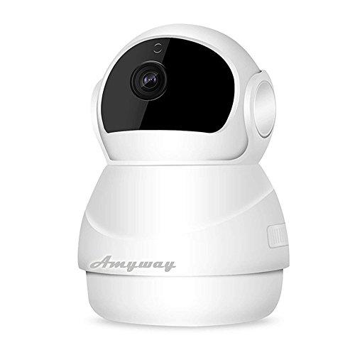 ネットワークカメラ wifi 小型 監視カメラ 1080P ...
