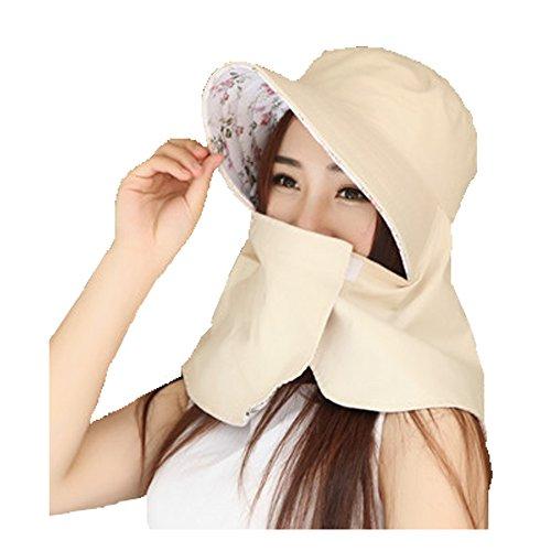 (リワード) REWARD 日よけカバー 帽子 UVカット 紫外線 日焼け防止 リバーシブル (オフホワイト)