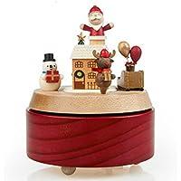 [オルゴール] サンタクロース 雪だるま エルク クリスマス オルゴール オルゴール スパンクリスマス ギフト ハロウィン 飾り ドールハウス オルゴール ピアノ 薔薇 インテリア 【結婚祝い 出産祝い 贈り物 癒し 誕生日プレゼント】WU0411