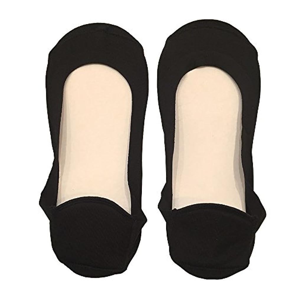 童謡動脈侵略DrScholl(ドクターショール)靴ずれ防止フットカバー かかとクッション付き 8804DR-07 ブラック