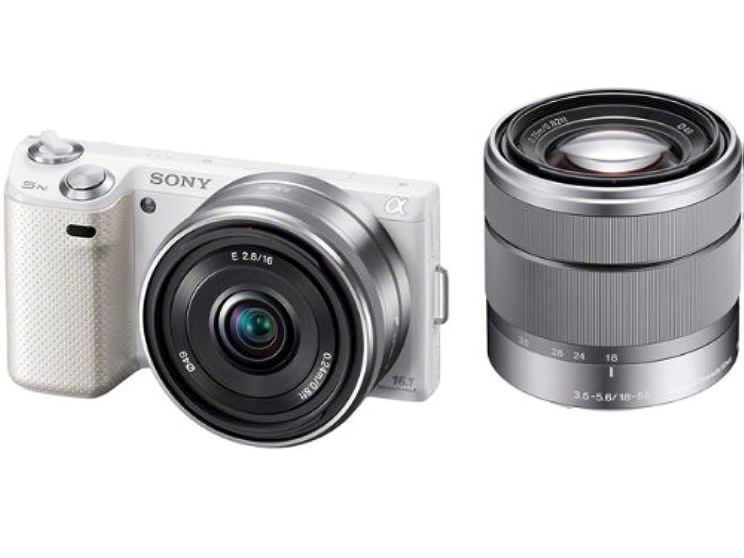 月曜日引数本物ソニー SONY デジタル一眼カメラ α NEX-5N ダブルレンズキット ホワイト NEX-5ND/W