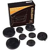 GOLOHO Door Seal Kit for Tesla Model 3, Self-Adhesive Rubber Weatherstrip Noise Reduction Kit (Left & Right Side)