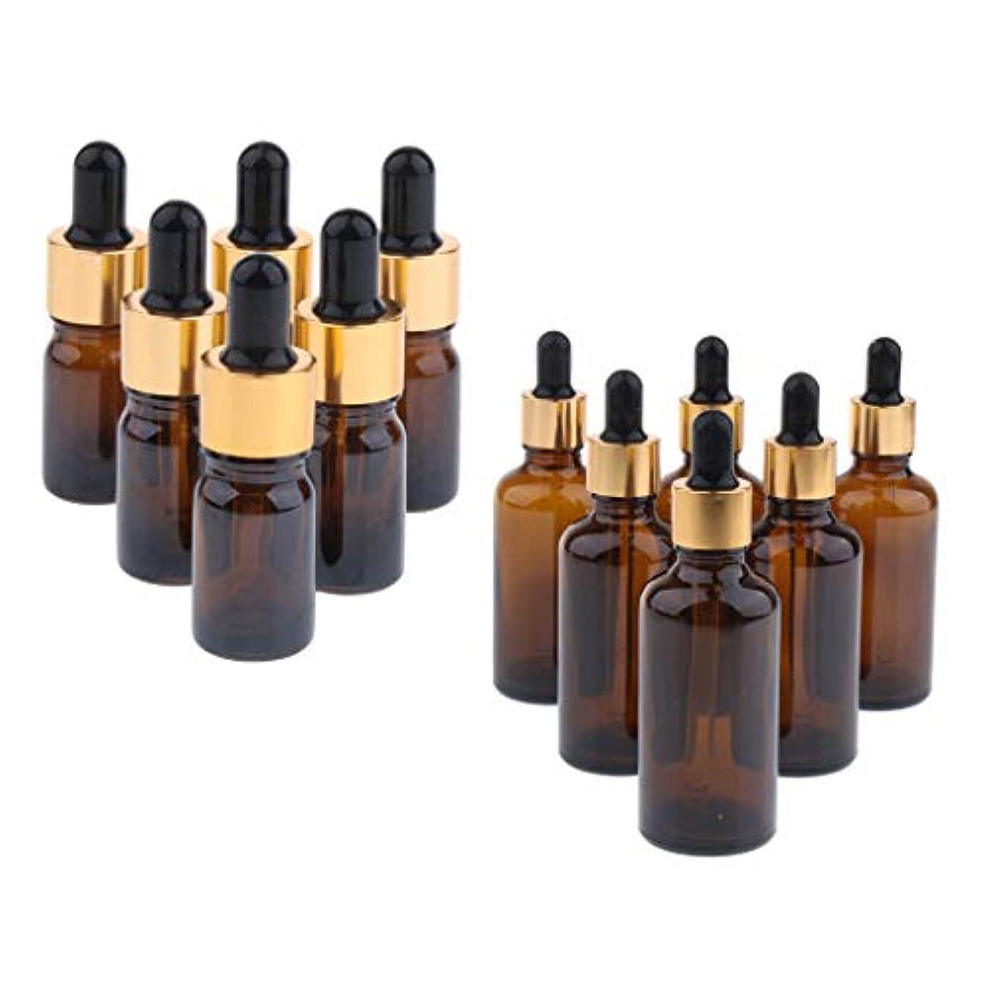 バット独特のマイナーdailymall 12ピース詰め替え液体ストレージ点眼薬と白いキャップエッセンシャルオイルラウンドボトルメイクアップサンプルバイアル化粧品ボトル10 Ml + 50 Ml