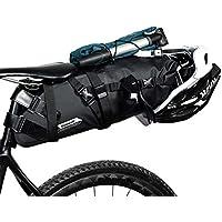 LSP-tech 自転車サドルバッグ リアバッグ 防水 大容量 TPU加工