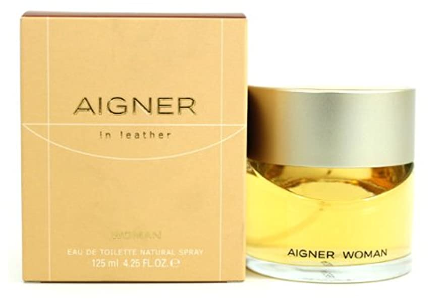 に賛成意識壁紙Aigner In Leather (アイグナー イン レザー) 3.4 oz (100ml) EDT Spray by Etienne Aigner for Women