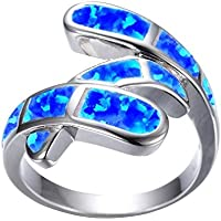 CHENTAOCS Classic Luxury Zinc Alloy Rings Fashion Wedding Jewelry Rings Size 5-12 for Women Girls Best Gift Easy to use