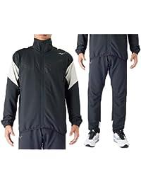 ミズノ メンズ クロスシャツ ジャケット パンツ mizuno 上下セット 男性 スポーツウェア トレーニング ランニング ジョギング ジム 上下組/32MC7140-32MD7140
