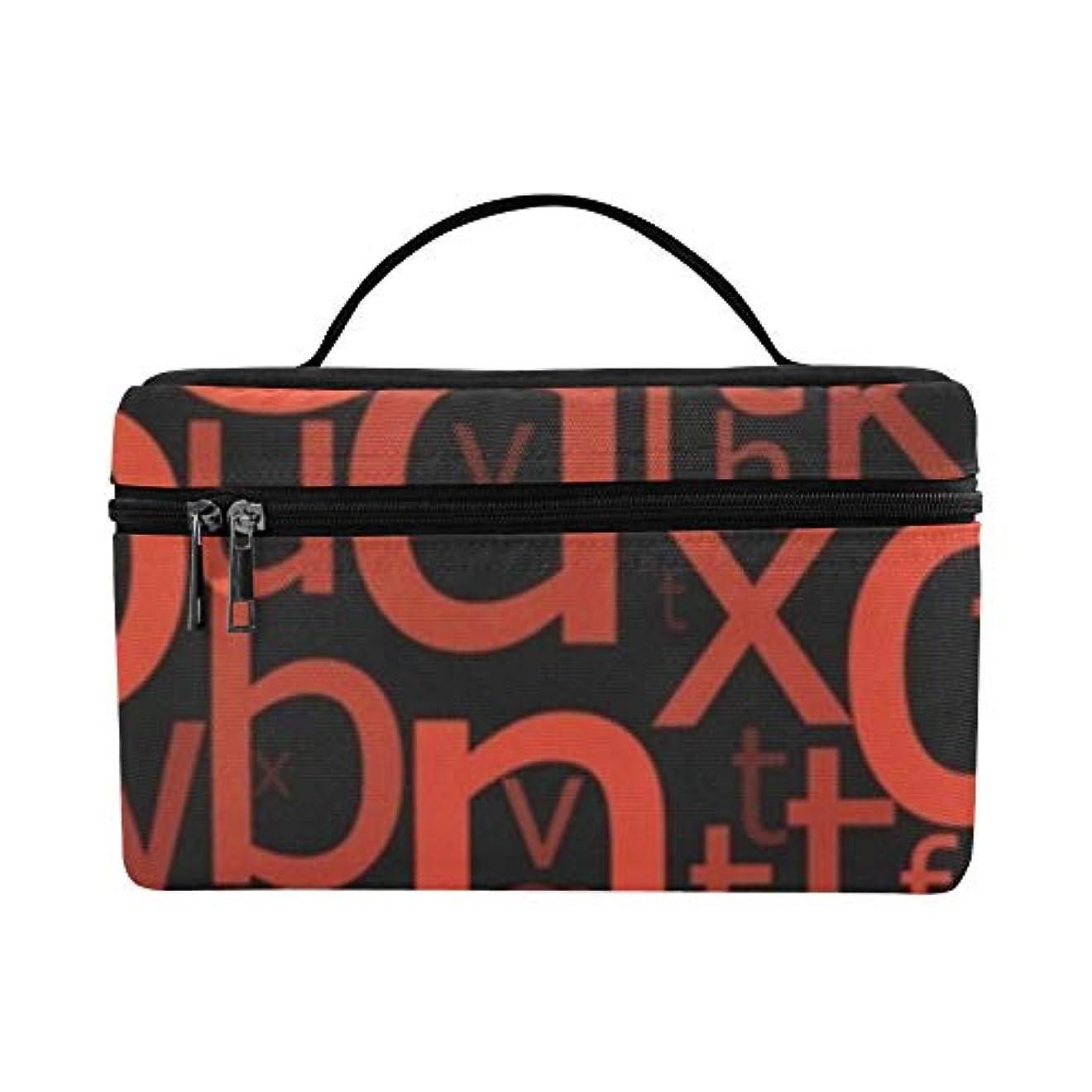 子羊引数脚本家GGSXD メイクボックス アルファベット コスメ収納 化粧品収納ケース 大容量 収納ボックス 化粧品入れ 化粧バッグ 旅行用 メイクブラシバッグ 化粧箱 持ち運び便利 プロ用