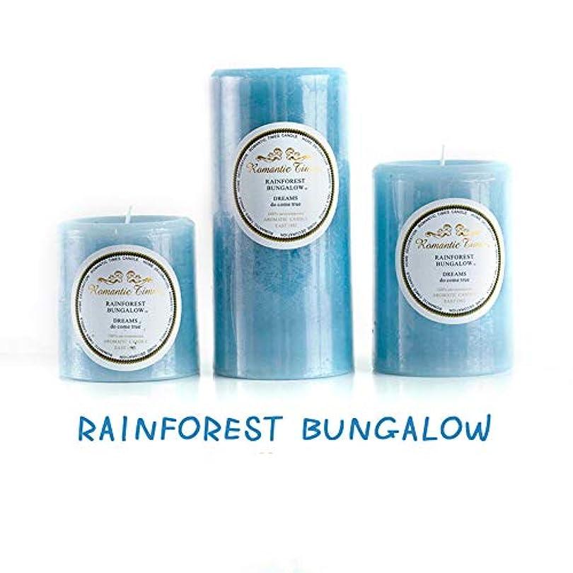 杖著作権エアコン香料入りキャンドルギフト、アロマセラピーキャンドルヨガバスリラックスまたはクリーンエア、ストレスリリーフクリスマス女性ギフト、3個,Rainforest