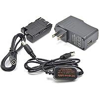 5V USBアダプタキット + 5V3A充電器ケーブルDC8.4V ACK-E6 + DR-E6 LP-E6 LP E6完全にデコード仮電池 互換型番Canon EOS 5D Mark III II IV 5DSR 7D 60D 70D 80D
