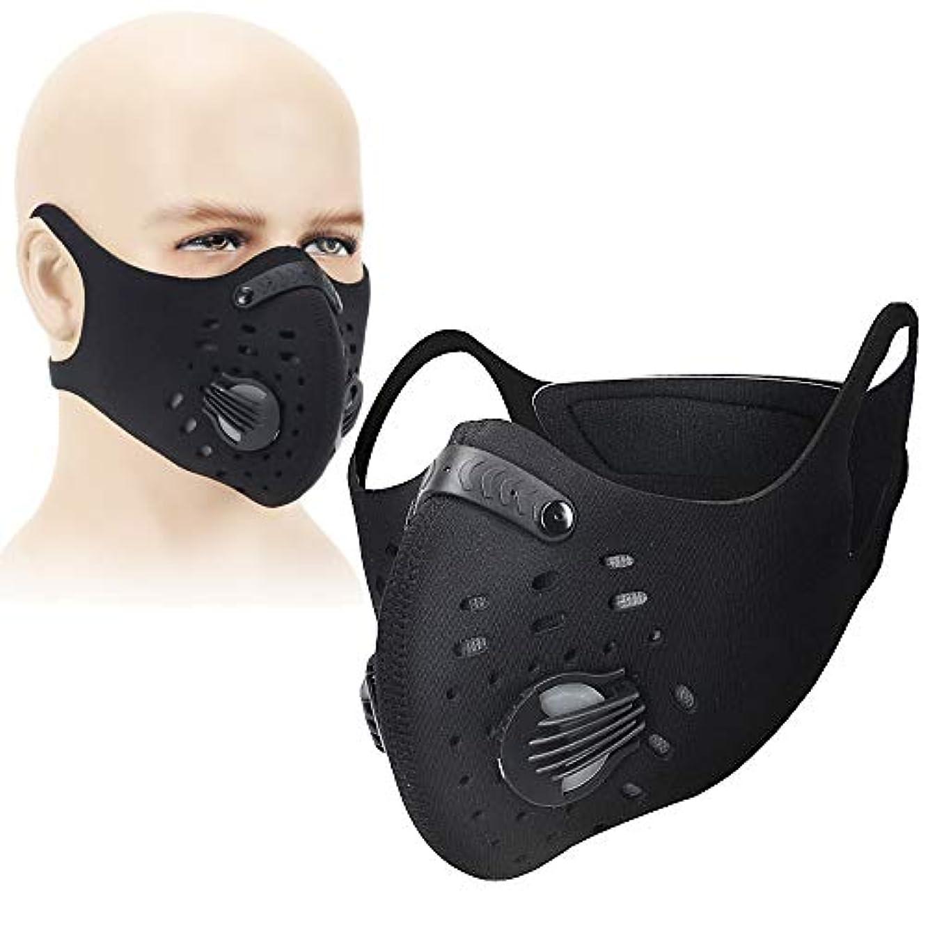 ワークショップ事前ふつうING STYLE プロも認めた! 洗える トレーニング用 マスク 低酸素 持久力 肺活量 フィルター付