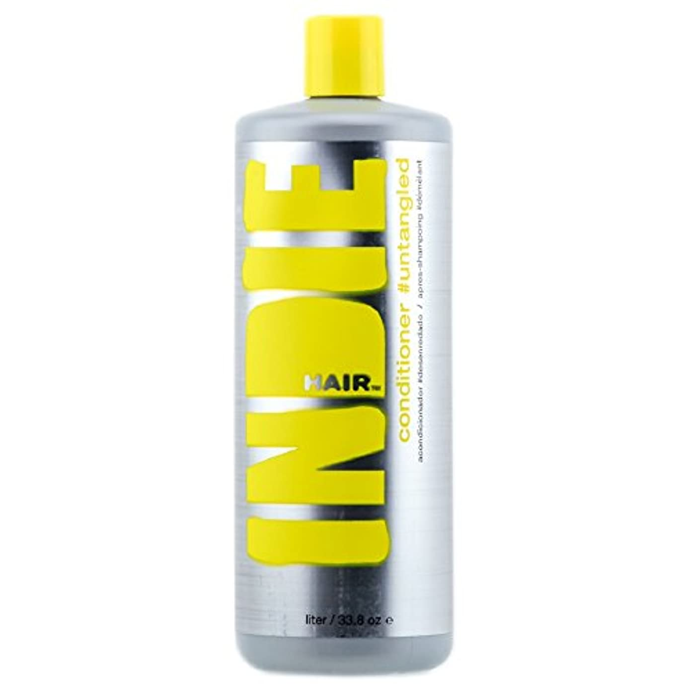 離婚契約した黒板Indie Hair 2344 Conditioner Untangled, 33.8 Fluid Ounce by Indie Hair