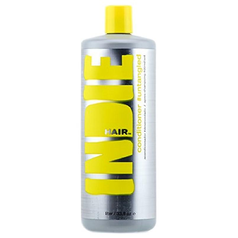 意図的あいまい固体Indie Hair 2344 Conditioner Untangled, 33.8 Fluid Ounce by Indie Hair