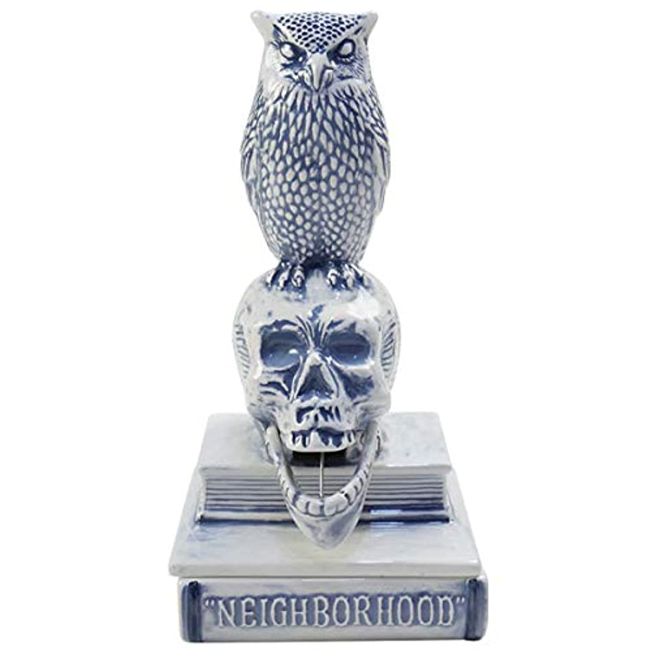 サラダ銃真剣にNEIGHBORHOOD ネイバーフッド 18SS OWL-B/CE-INCENSE CHAMBER お香立て 青 フリー