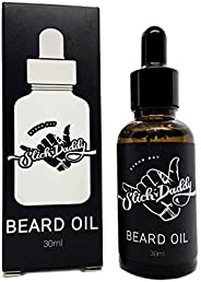Beard Oil GET SOME™ Scent with Jojoba Oil, Macadamia Oil & Vitamin E - Premium Quality, All Natural, Vegan, Best Beard Oil f
