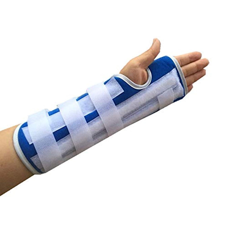 中傷そこから家ZYL-YL プレート固定と前腕スーパー関節サポート手首プロテクター前腕脛骨スプリントサポート手首捻挫骨折 (Edition : Left)