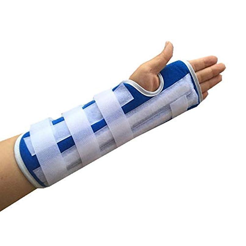 よろしく多年生擬人ZYL-YL プレート固定と前腕スーパー関節サポート手首プロテクター前腕脛骨スプリントサポート手首捻挫骨折 (Edition : Left)