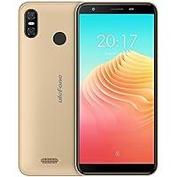 Ulefone S9 Pro スマホ SIMフリー 2018 Android 8.1 顔認証 4G 5.5インチHD+ 2GB + 16GB 指紋認証 デュアルSIM ブラック ブルー ゴールド (ゴールデン)